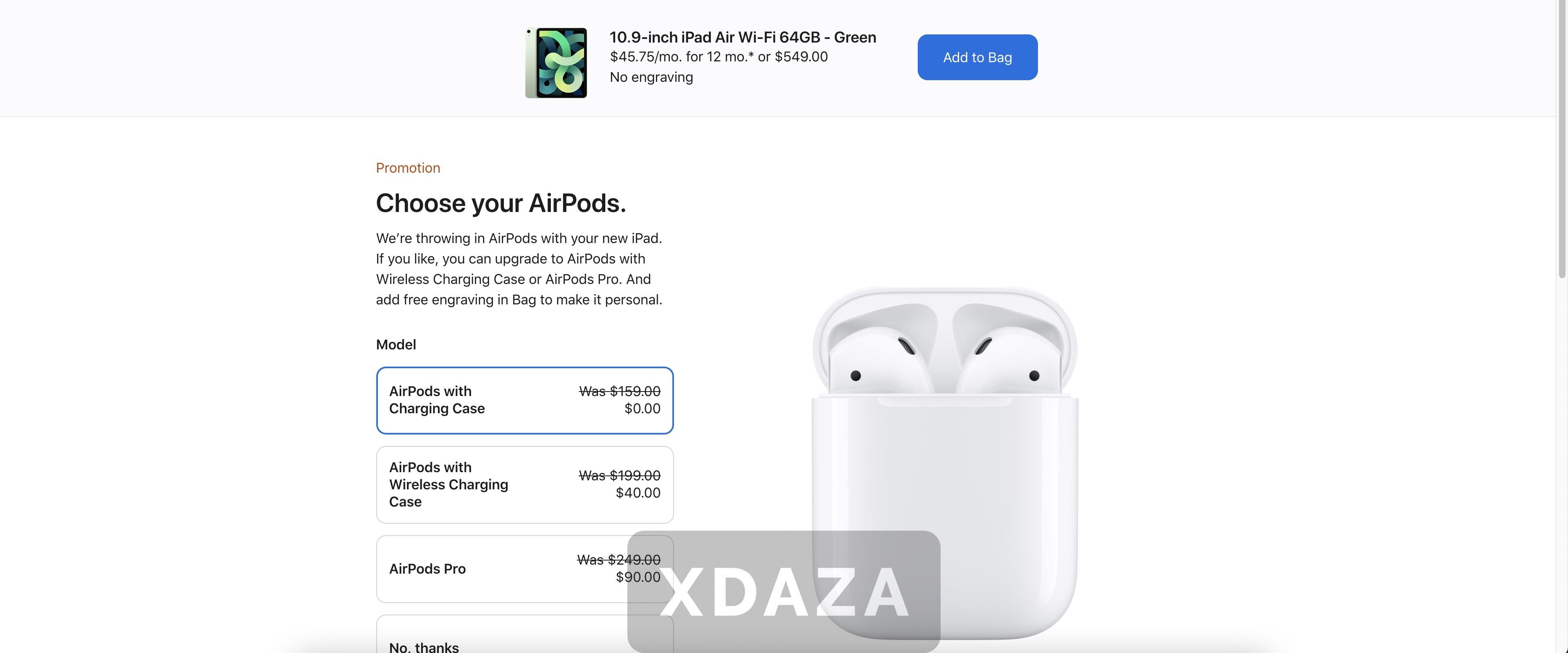 苹果2021年教育优惠政策确认!购买Mac和iPad均可获免费获得AirPods2代