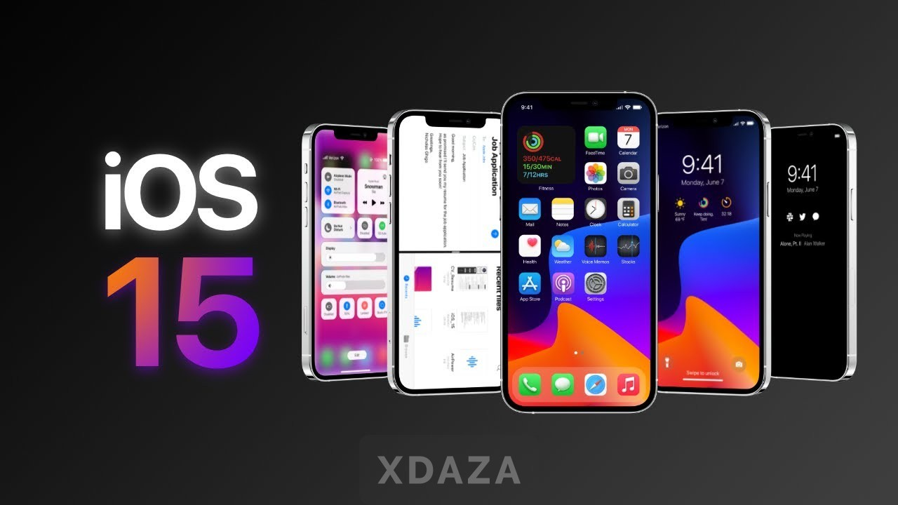 iOS15新特性曝光:UI颜值全面升级,让你欲罢不能