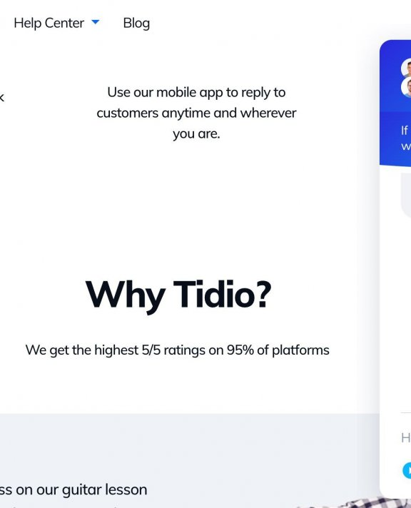 wp在线客服插件推荐:Tidio