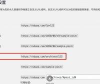 网站seo优化:wp网站怎么设置固定链接?