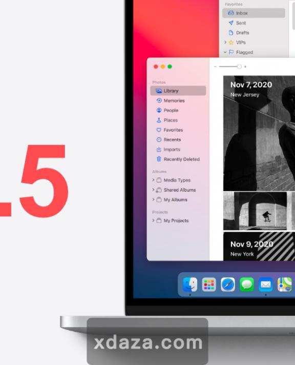 苹果正式推送macOS 11.5系统:包含多项关于M1设备的安全更新